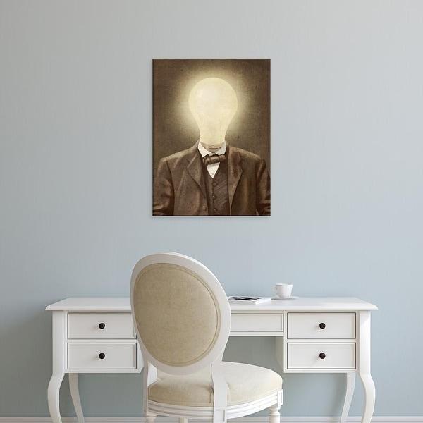 Easy Art Prints Terry Fan's 'The Idea Man' Premium Canvas Art