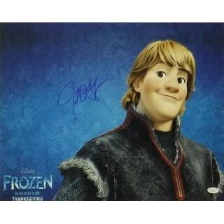Jonathan Groff Autographed Frozen Kristoff Bjorgman 16x20 Photo JSA