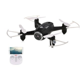 Link to Syma Wifi FPV Pocket Drone HD Camera Headless Mode Similar Items in Remote Control Toys