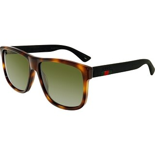 Gucci GG0010S-006-58 Brown Square Sunglasses