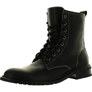 Polar Fox Mens 808563 Lace Up Combat Boots