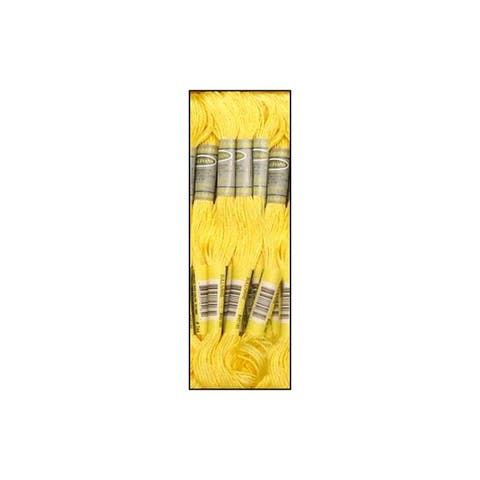 45185 sullivans emb floss 8 7yd pale yellow
