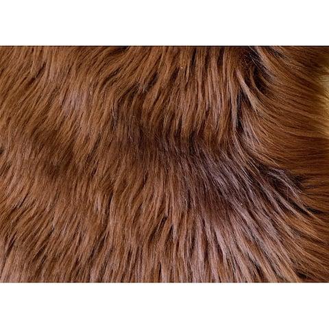 Ovella Home Premium Luxurious Faux Sheepskin 4-Pelt Plush Shag Area Rug - 4' x 6' - 4' x 6'