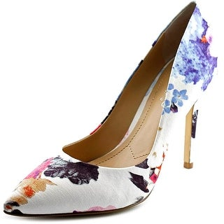 Charles By Charles David Pact Pointed Toe Canvas Heels