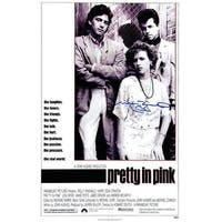 11 x 17 in. Molly Ringwald Signed Pretty In Pink Movie Poster