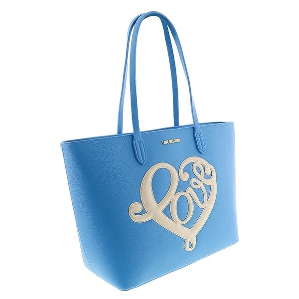 Moschino JC4257 0700 Blue Shopper/Tote - 14-11-6