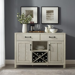 Roots Whitewash Sideboard - N/A