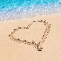"Club Pack of 192 Beach Love Premium 3-Ply Disposable Beverage Napkins 5"" - Blue"