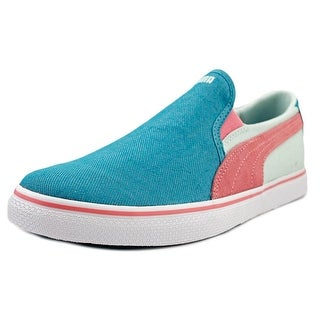 Puma Sllyde Vulc Slip On Round Toe Synthetic Sneakers