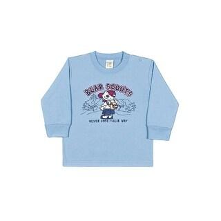 Baby Boy T-Shirt Winter Infant Long Sleeve Tee Newborn Pulla Bulla 3-12 Months