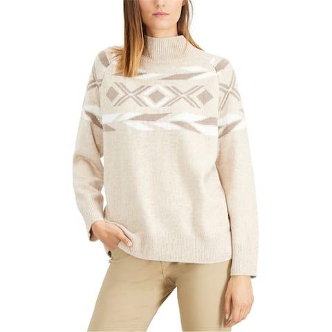 Calvin Klein Womens Mock-Neck Pullover Sweater