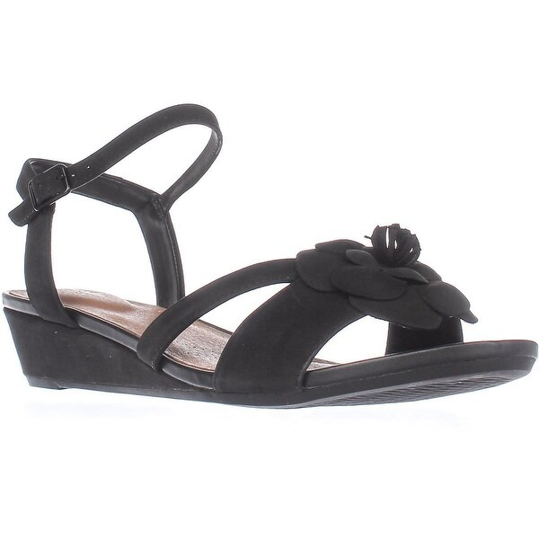 dc0f9af20af2 Shop Clarks Parram Stella Low-Wedge Comfort Sandals