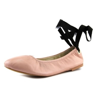Steve Madden Meow Women  Round Toe Leather Pink Ballet Flats