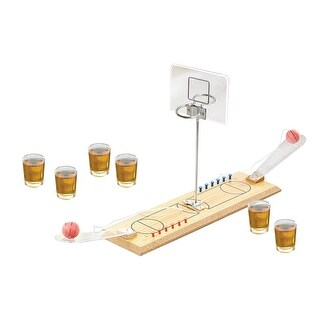 Game Night Basketball Shot Glass Game