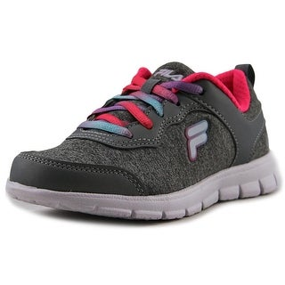 Fila Lite Motion Heather Youth  Round Toe Canvas Gray Sneakers