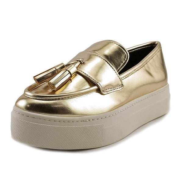 Aldo Narcissa Women Gold Flats