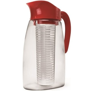 Primula PFRE-3739 Tea Pitcher With Infuser, Cherry, 2.9 Quart