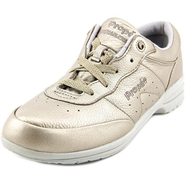 Propet Washable Walker Women Pewter Sneakers Shoes