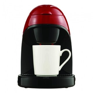 Brentwood TS112R Single Cup Coffee Maker - Red