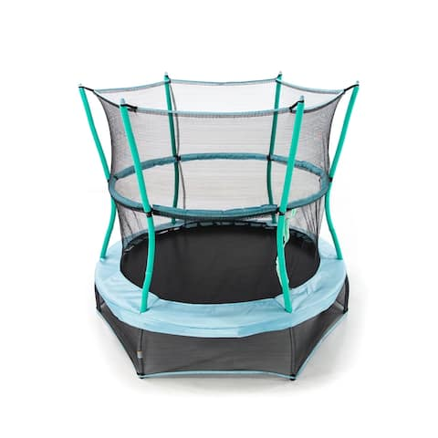 """Skywalker Trampolines 60"""" Round Classic Mini Bouncer with Enclosure"""