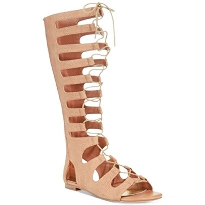 Bar III Womens VIOLET Casual Gladiator Sandals