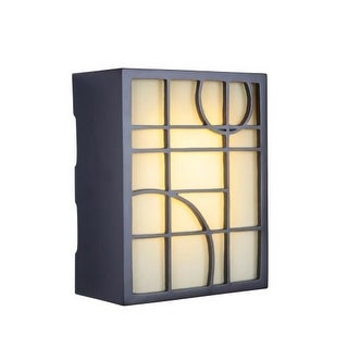 "Craftmade ICH1660 10.33"" x 8.25"" Rectangle LED Geometric Door Chime 2 Note Tone"