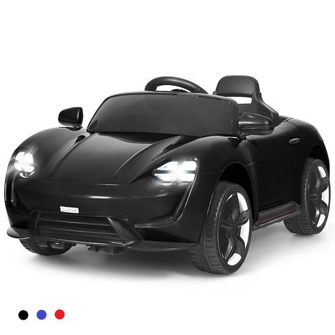 Costway 12V Kids Ride On Car Parental Remote Motorized Vehicles w/ MP3 - See Description