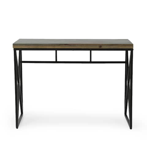 Screven Indoor Mango Wood Handcrafted Desk by Christopher Knight Home
