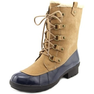 A2 By Aerosoles Barricade Women Round Toe Synthetic Tan Winter Boot