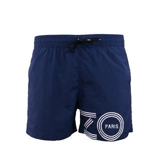 Kenzo Mens Navy Blue Bathing Suit Swim Shorts - XL