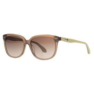 Calvin Klein CK 4215/S 237 Clear Brown Wayfarer Sunglasses