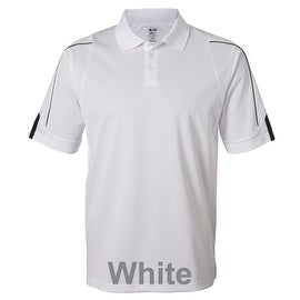 adidas - Golf ClimaLite® 3-Stripes Cuff Polo