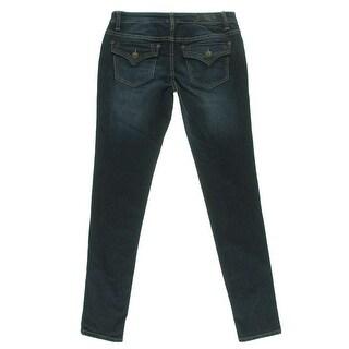Celebrity Pink Womens Juniors Skinny Jeans Denim Curvy Fit