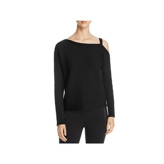 Eileen Fisher Womens Pullover Sweater Tencel Off-The-Shoulder