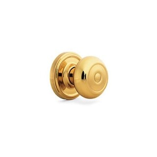 Weslock 640Z Savannah Keyed Entry Door Knob with Round Rose from the Traditionale Collection