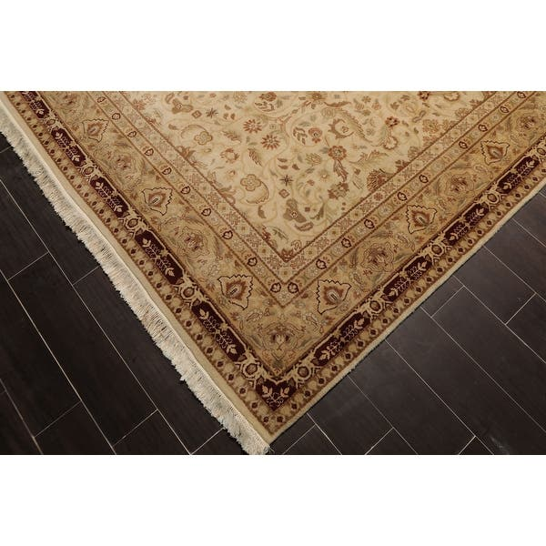 Shop Hand Knotted Palace Runner 150 Kpsi Beige Maroon Persian Oriental Area Rug Wool Traditional Oriental Area Rug Palace On Sale Overstock 31523753