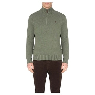 Polo Ralph Lauren Merino Wool 1/4 Zip Sweater Lovette Green Small S|https://ak1.ostkcdn.com/images/products/is/images/direct/23b9f7b81300ecaea662bd29e867e2c9c1da54bb/Polo-Ralph-Lauren-Merino-Wool-1-4-Zip-Sweater-Lovette-Green-Small-S.jpg?impolicy=medium