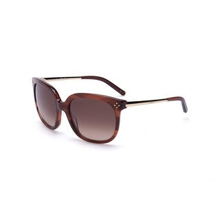 Chloe Women's Square Sunglasses Striped brown - Small