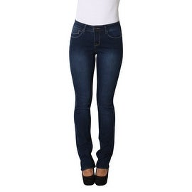 Lola Classic Straight Jeans, Kristine-MSB