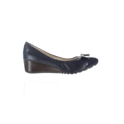 Cole Haan Womens Emory Blue Pumps Size 6