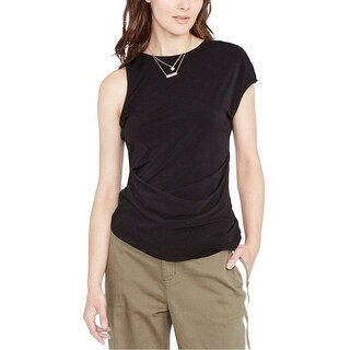 Link to Rachel Roy Womens Asmmetrical Knit Blouse Similar Items in Tops