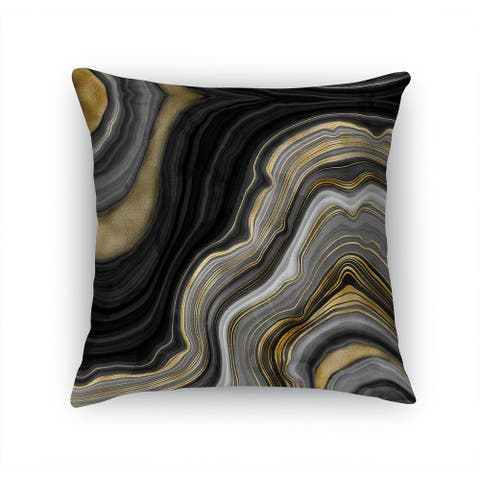 FORTIFICATION AGATE Accent Pillow By Kavka Designs