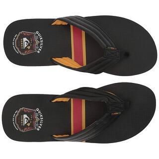 cecc2cd38ba7 Buy Black Quiksilver Men s Sandals Online at Overstock