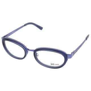 Just Cavalli JC0527/V 091 Smoky Blue Oval Optical Frames - smoky blue - 53-19-135