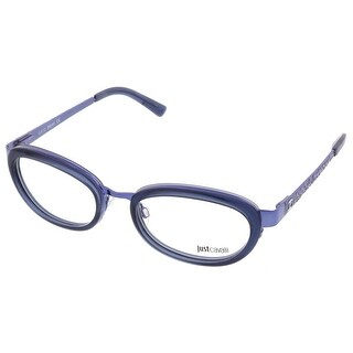 Just Cavalli JC0527/V 091 Smoky Blue Oval Optical Frames - 53-19-135