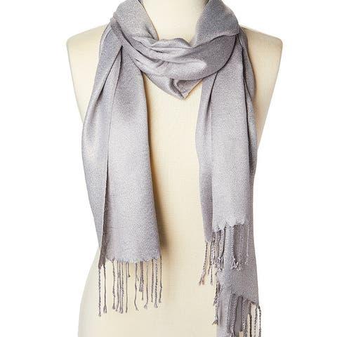 Oussum Women Fashion Scarf Acrylic Metallic Scarves & Wraps Long Neck Head Wrap Shawl Stole