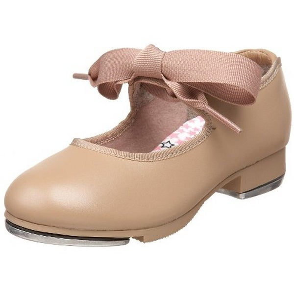 Capezio Kids Tyette Tap Shoes, Caramel - 9.5w