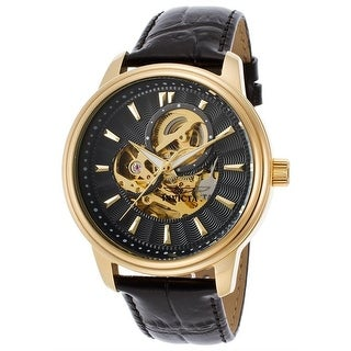 Link to Invicta Men's 22578 'Vintage' Automatic Black Leather Watch Similar Items in Men's Watches