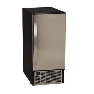 EdgeStar IB450 15 Inch Wide 25 Lbs. Capacity Built-In Ice Maker with 45 Lbs. Daily Ice Production