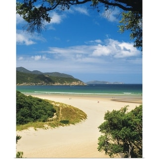 """Norman Bay at Tidal River in Wilsons Promontory National Park in, Australia"" Poster Print"